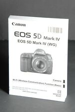 New listing Canon Eos 5D Mark Iv Genuine Camera Instruction Book / Manual / User Guide