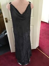 Windsmoor  Grey Silk Mix Maxi Dress ~ Size 18 🇬🇧