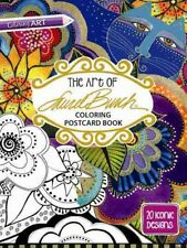 Art of Laurel Burch Coloring Postcard Book : 20 Iconic Designs, Paperback by ...