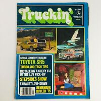 Truckin' Magazine January 1976 Vol 2 #1 Toyota SR5 & Turbo 400 Tech Tips