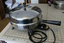 Farberware Stainless Steel 310-A 12 Inch Electric Skillet Fry Pan