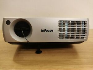 InFocus IN3106 DLP Projector - As-New, All Parts/Cables, Tested Working