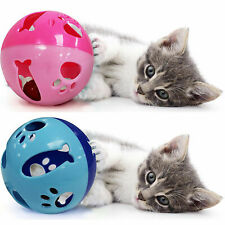 """3.5"""" Ball with Bell Toy for Cats, Parrots and Other Animals"""
