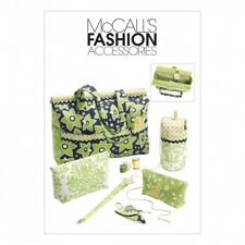 McCalls Sewing Pattern 6256 Project Tote Bag, Organizer/Knitting Needle/Sciss...