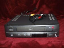Zenith Vintage Vrm4120 Vcr Tested 4head auto head cleaner