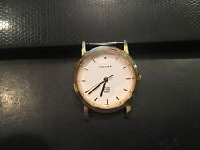 Sonata by Tata of India Watch, Gold Tone, WR to 30m, New Battery., No Band