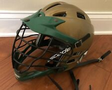 Cascade Cpx Lacrosse Helmet Gold Green Great Shape 1 size for all
