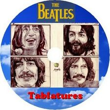 THE BEATLES BASS & GUITAR TAB CD TABLATURE GREATEST HITS BEST LENNON MCCARTNEY