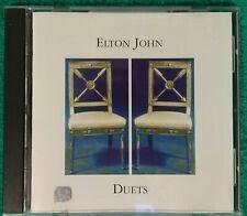 Elton John Duets Cd 1993 (a4) Rock Pop