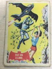 BATMAN Red Bat Cards A + B C Gum 1966 No 13A