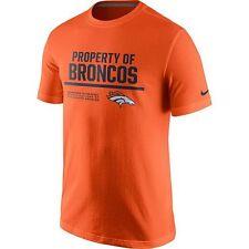 6ff1a41de Nike Mens Property of Denver Broncos Fashion Tshirt 789006 Large L