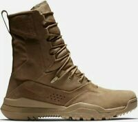 """🔥Nike SFB Field 2 Leather 8"""" Coyote Brown Tactical Boots size 7.5   AQ1202-900"""
