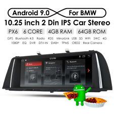 """Android 9.0 Car Radio 10.25"""" GPS Nav for BMW 5 Series F10/ F11 520i 525i 528i NE"""