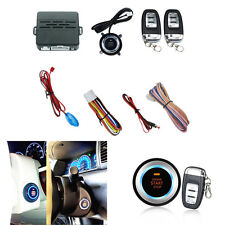 New listing Car Engine Start Ignition Starter Push Button Audible Alarm Car Security System