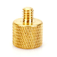 3/8'' Female to 1/4'' Male Tripod Thread Reducer Screw Adapter Copper Low Price