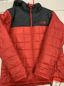 The North Face Square Synth Jacket Red Mens Large (new)