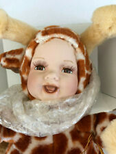Freckles Giraffe * Show Stoppers Babes in the Woods * porcelain Plush * Nib