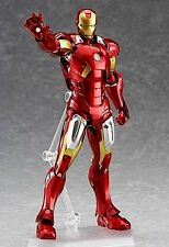 Figma EX-018 The Avengers Iron Man Mark VII Full Spec ver. New Action Figures