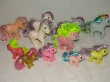 Lot of 11 Vintage My Little Pony RARE ???