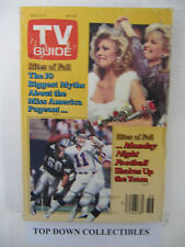 TV Guide   Sept.6-12 1986    The Last Days Of Patton