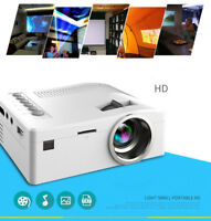 Mini LED Beamer Heimkino Projektor HD 1080P Home Projector USB TV VGA SD HDMI