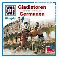 Folge 21: Gladiatoren/Germanen von Was Ist Was | CD | Zustand gut