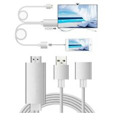 Lightning to HDMI 1080P Adapter TV HDTV AV Plug and Play Cable for iPhone7 iPad