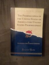 The Pharmacopeia of the United States of America New Condition
