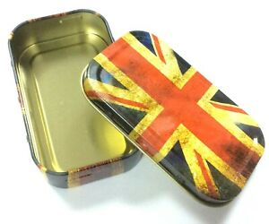 1 OZ TOBACCO TIN PILL TIN,BAIT TIN,SEWING TIN,BACCY TIN,STASH CAN DESIGNS P&P UK