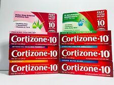 Cortizone 10 MaxStrength Hydrocortisone 1% Anti-Itch Cream 1oz (1Tube per Order)