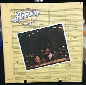 AMERICA Live Album Released 1977 Record/Vinyl Collection USA