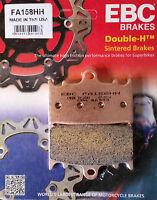EBC/FA158HH Sintered Brake Pads (Front) - Suzuki GSX650F, SV1000(S), GSX1250FA