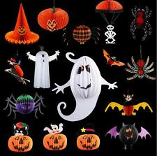 Halloween Party Paper props Home Bar Decoration Paper Ornaments Hanging Decor