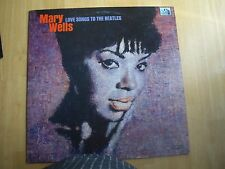 MARY WELLS ~ LOVE SONGS TO THE BEATTLES ~ STEREO ~ 1965 331/3 RPM RECORD