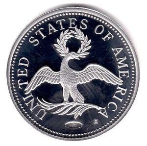 1797 EAGLE TURBAN HEAD: Platinum Layered U.S.A Coin Collection PROOF AA22