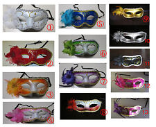 2 Dozen Fancy Dress Masquerade Party Masks With Rose