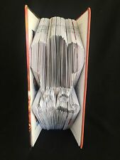 Handcrafted Folded Book Art Chef Cook Gift 1st Anniversary Gift Idea