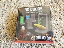 Zombicide: Invader 3D Plastic Doors Pack New! Kickstarter Exclusive Bonus Add-On