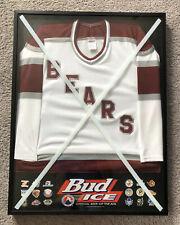 Hershey Bears - AHL - Bud ICE - Framed Hockey Jersey