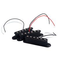 3x Alnico V Single Coil Pickup SSS Pickups Set for ST Electric Guitar