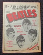 1964 BEATLES Charlton #3 G/VG 3.0 Hard Day's Night Complete Picture Story