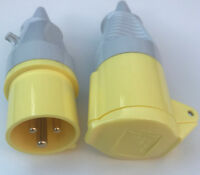 IP44 Trailing Lead Plug Un-used 3p+N+E Walther 230 5 09 32a 9h 144-250v 5 Pin
