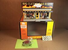 Rail King by MTH Big Cletus Bar-B-Que Road Side Stand In OB,