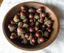 Acorn ~ Bowl Filler ~ Assorted Sizes ~ Acorns  ~ Bag of 40 Acorns