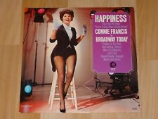 CONNIE FRANCIS - Happiness  LP