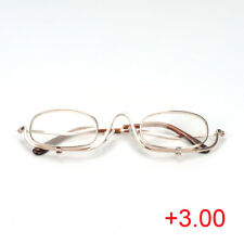 Men's Glasses 3 Colors Reading Glass Magnifying Glasses Makeup Folding Eyeglasses Cosmetic General