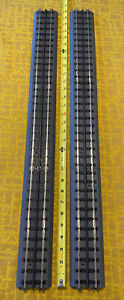 """Rail King by MTH RealTrax Solid O Gauge 30"""" Straight Track Sections - 2 Pieces"""