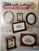 Stitch With Sudberry Cross Stitch Leaflet No. 31 Bluebirds & Butterflies