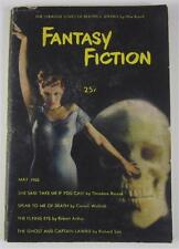 FANTASY FICTION MAY 1950 #1 CORNELL WOOLRICH RICHARD SALE OTIS ALBERT KLINE