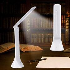 LED Tischlampe weiß Berührungssensor USB Tisch-Leuchte Schreibtisch-Lampe